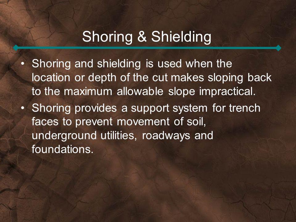 Shoring & Shielding