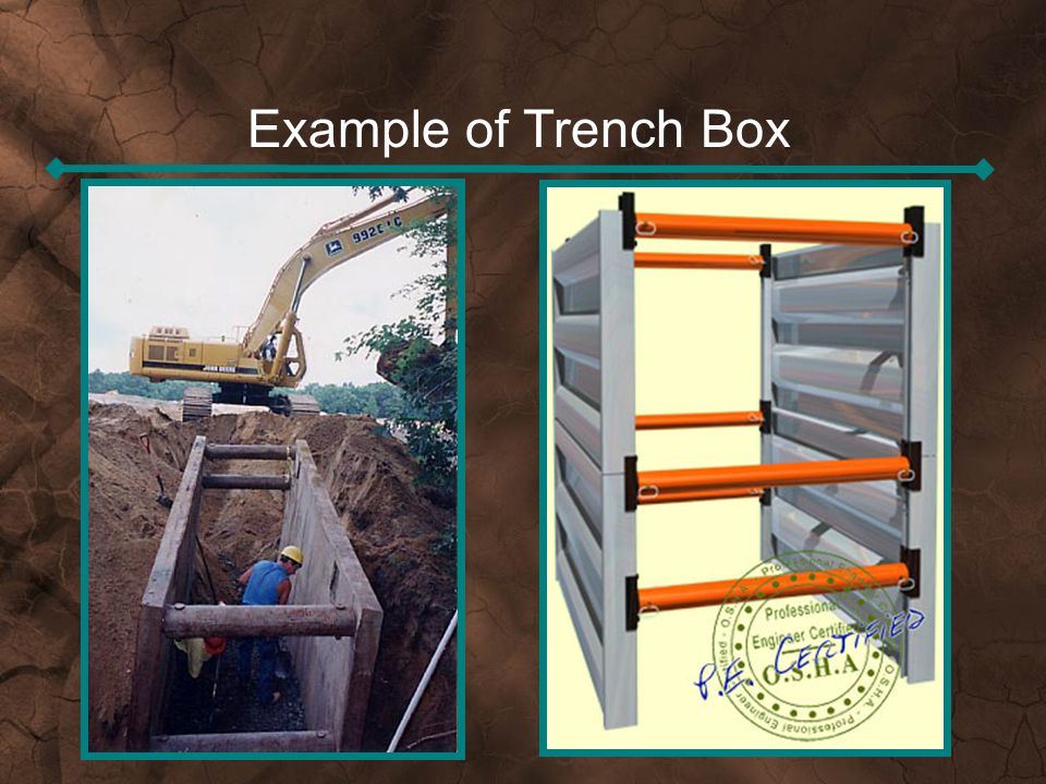Example of Trench Box