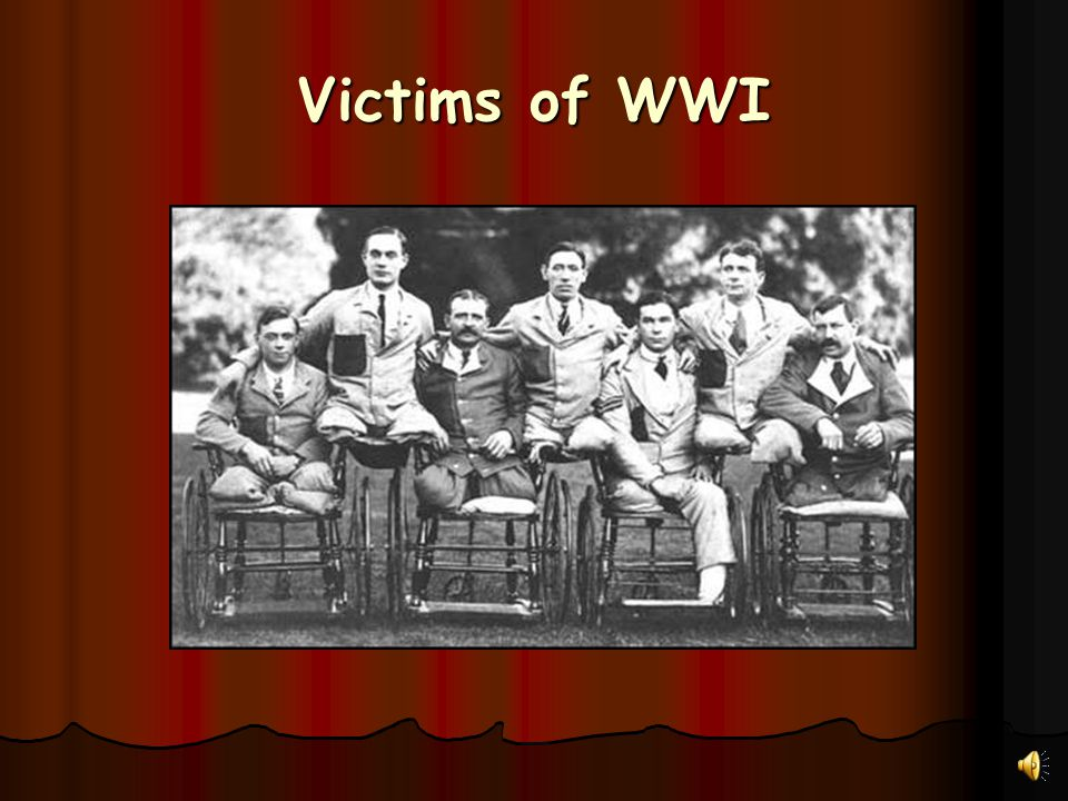 Victims of WWI