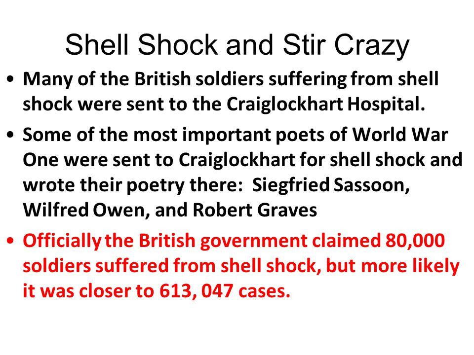 Shell Shock and Stir Crazy