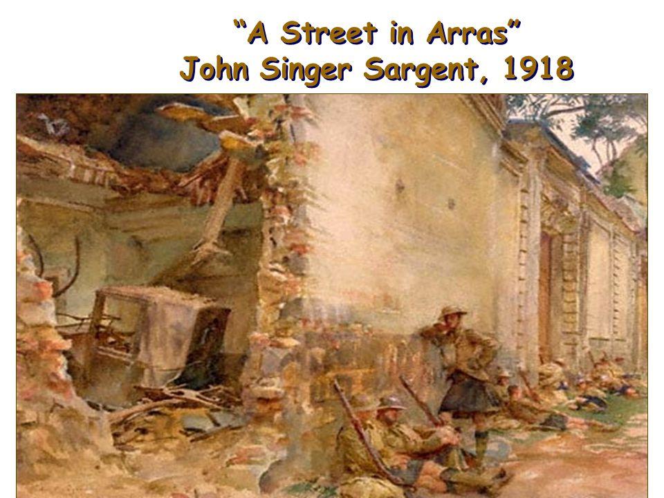 A Street in Arras John Singer Sargent, 1918