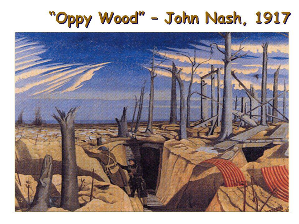 Oppy Wood – John Nash, 1917