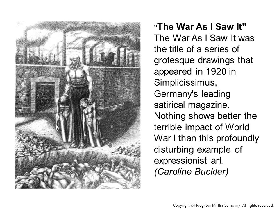The War As I Saw It Map: The First World War in EuropeMap: Territorial Changes in Europe After World War I