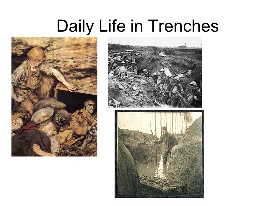 Daily Life in Trenches
