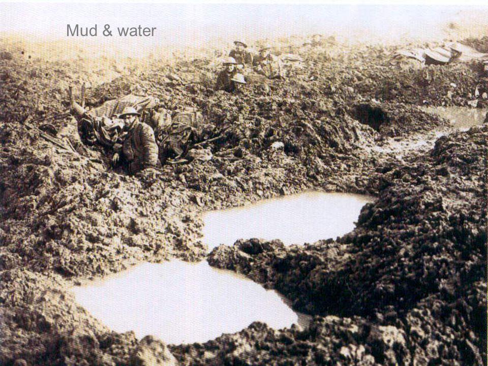 Mud & water