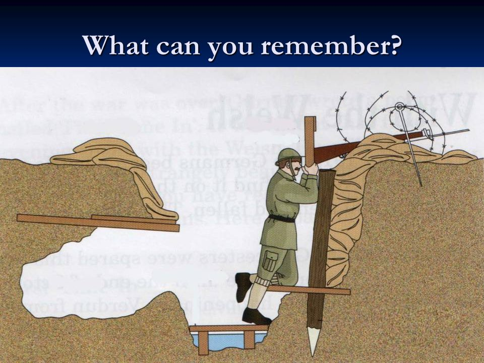 What can you remember