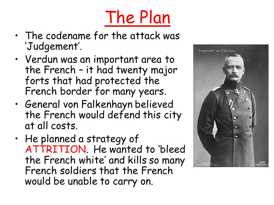 The Plan The codename for the attack was 'Judgement'.