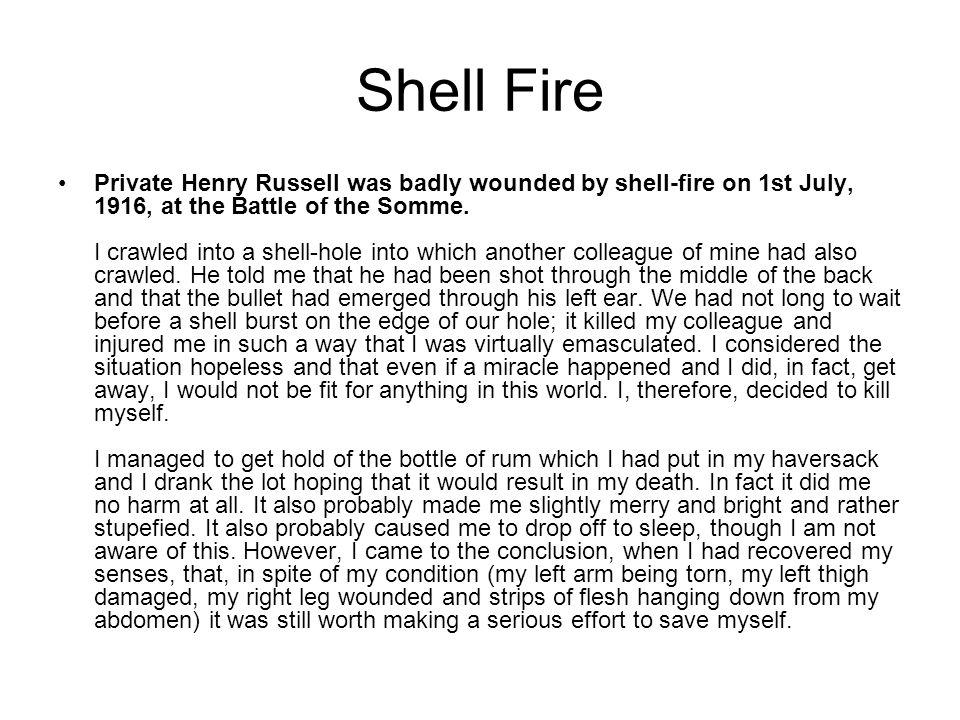 Shell Fire