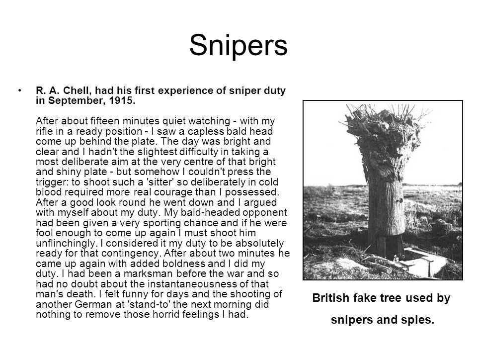 British fake tree used by