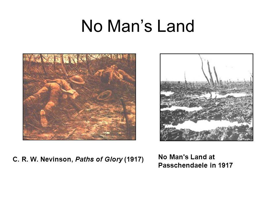 No Man's Land No Man s Land at Passchendaele in 1917