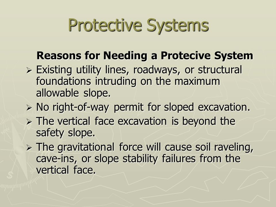 Reasons for Needing a Protecive System
