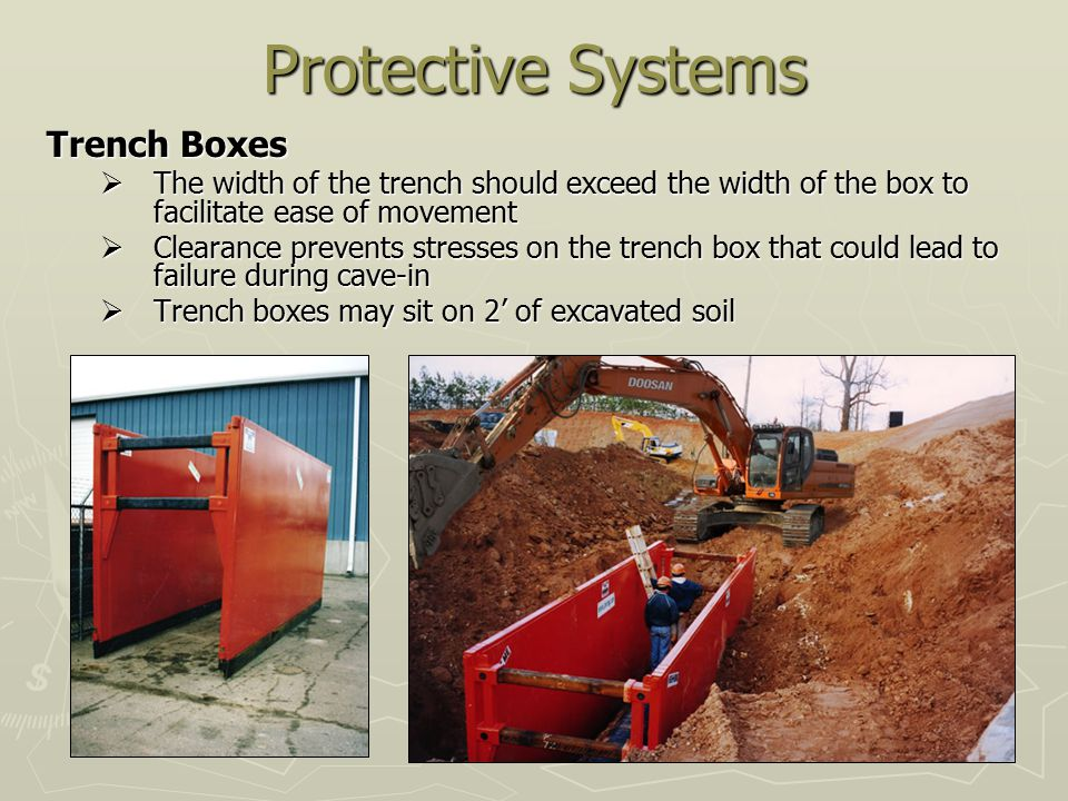 Protective Systems Trench Boxes