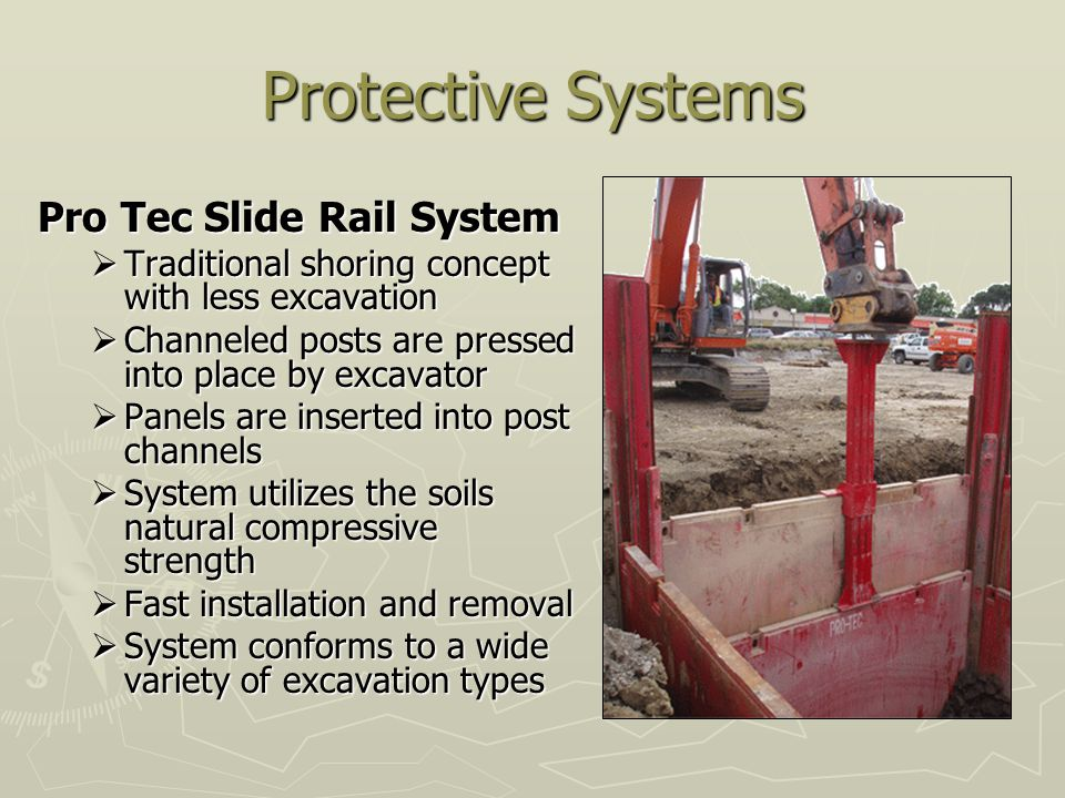Protective Systems Pro Tec Slide Rail System