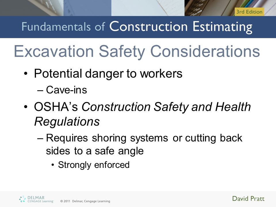 Excavation Safety Considerations