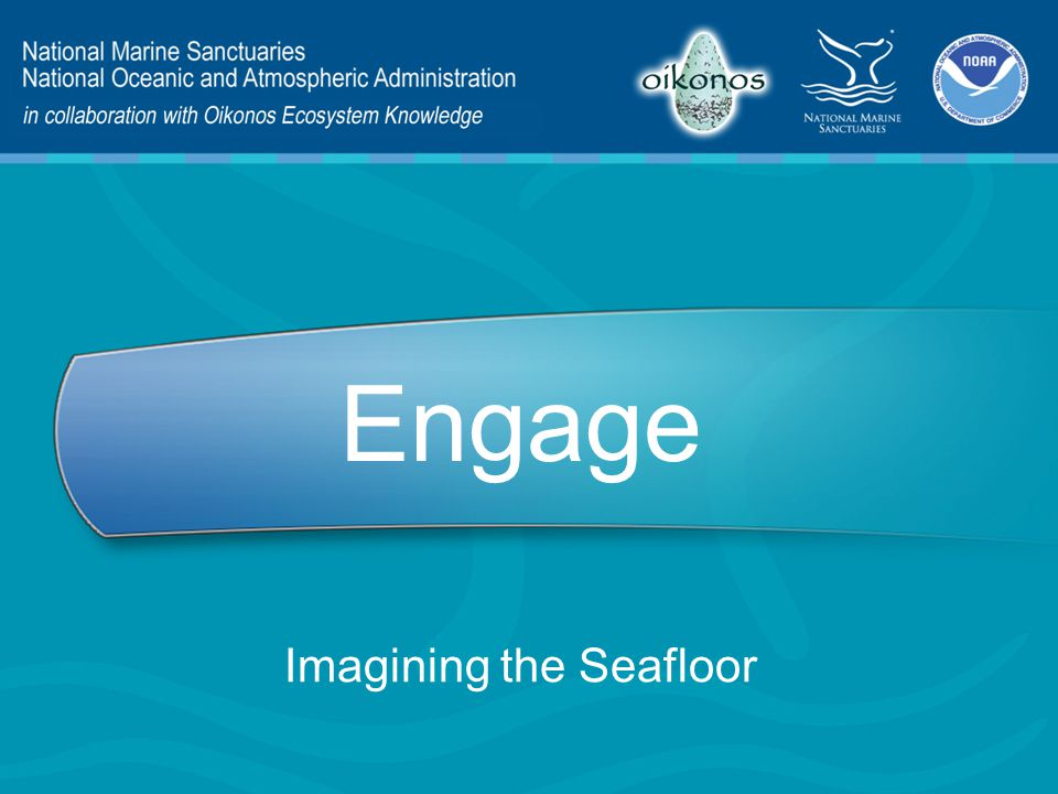 Engage Imagining the Seafloor