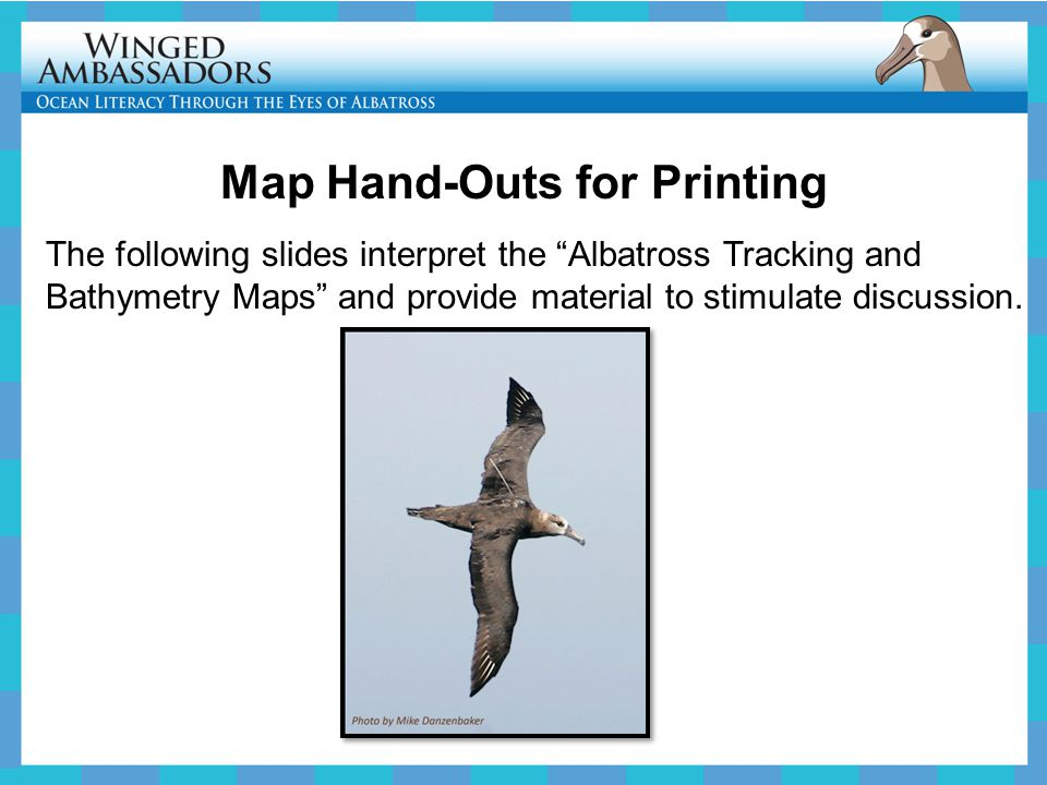 Map Hand-Outs for Printing