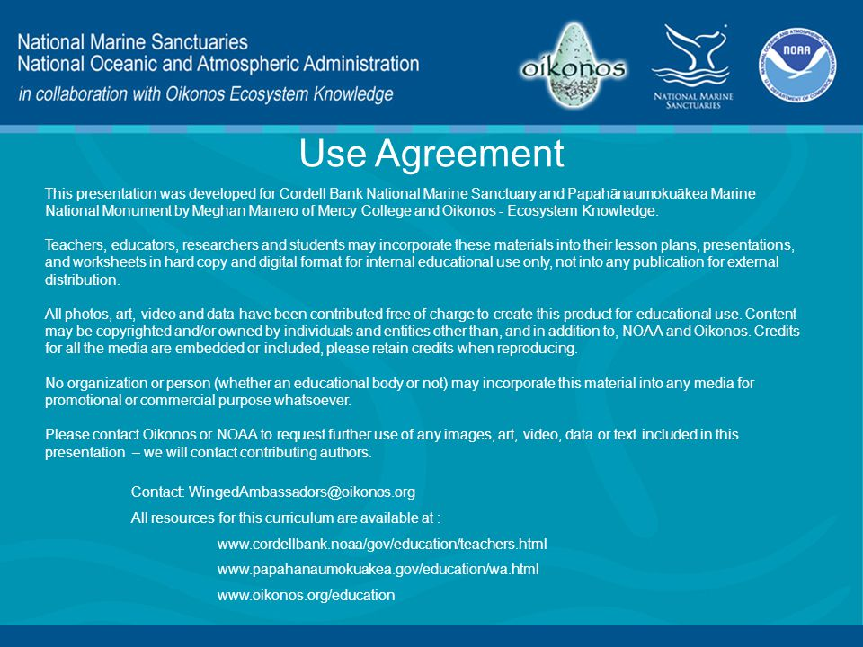 Use Agreement