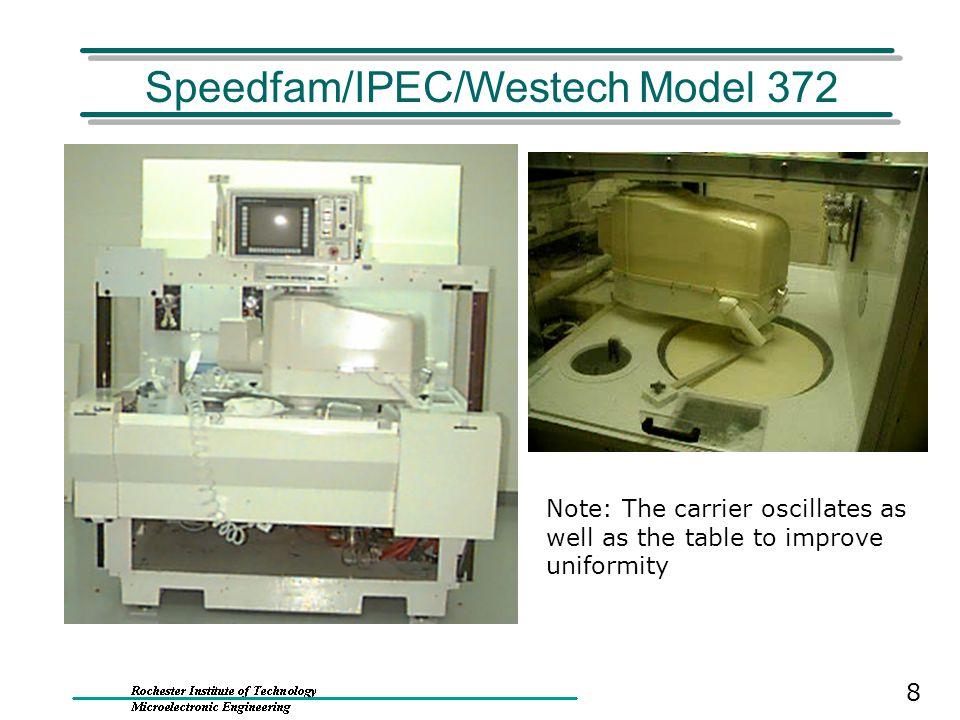 Speedfam/IPEC/Westech Model 372