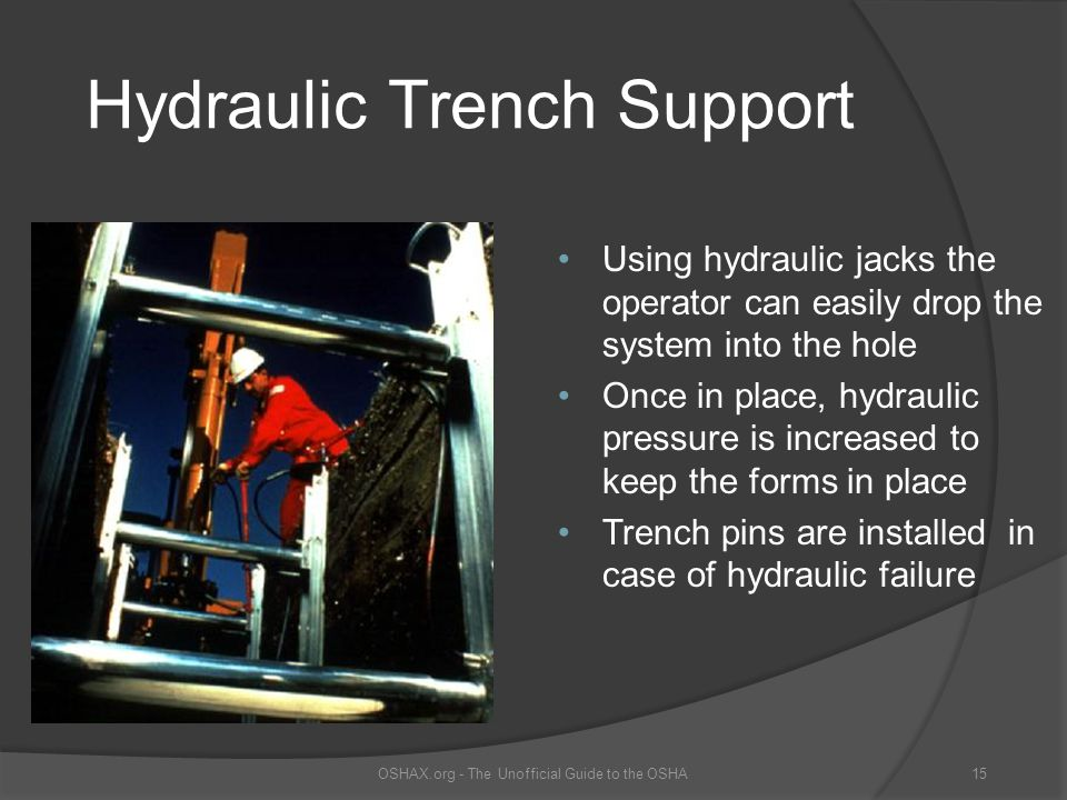 Hydraulic Trench Support