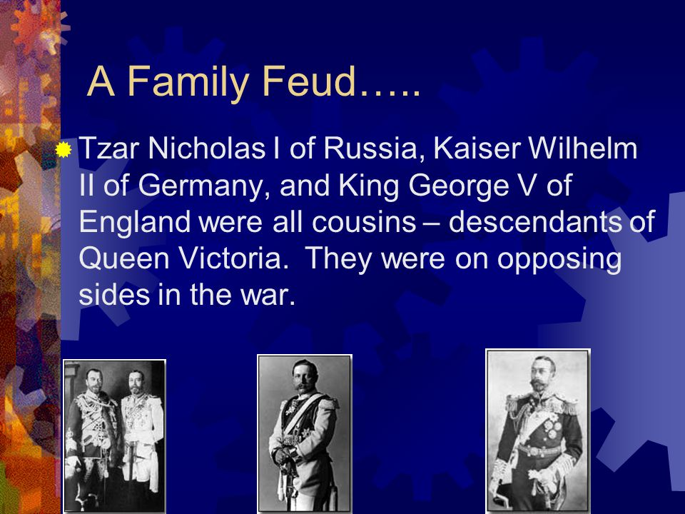 A Family Feud…..