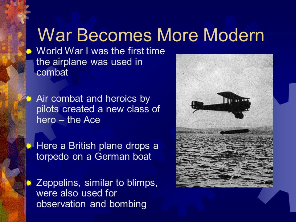 War Becomes More Modern