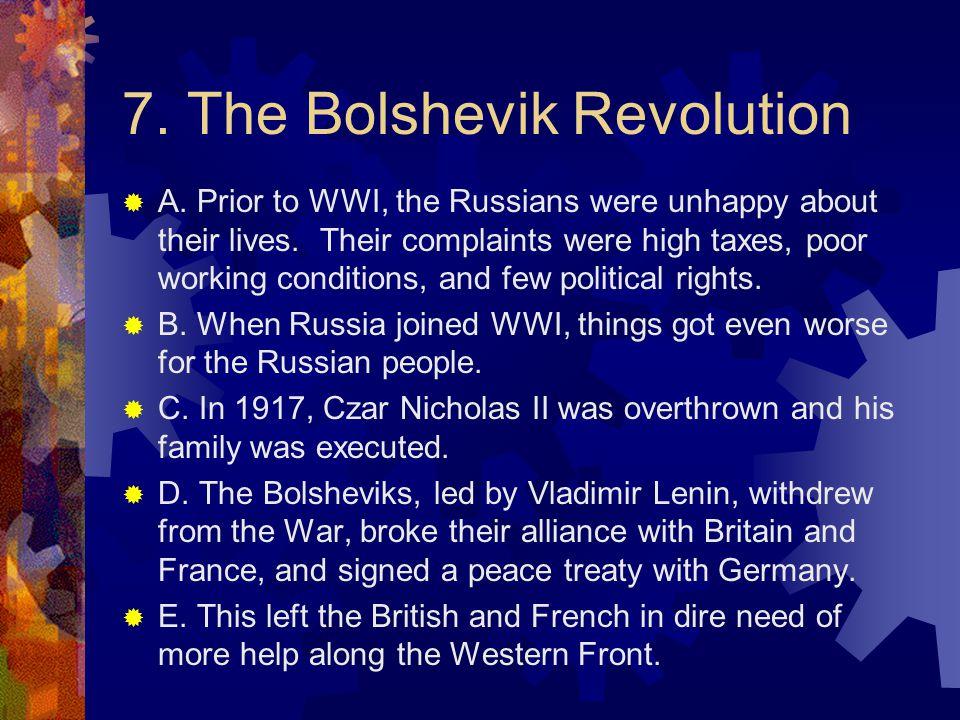 7. The Bolshevik Revolution