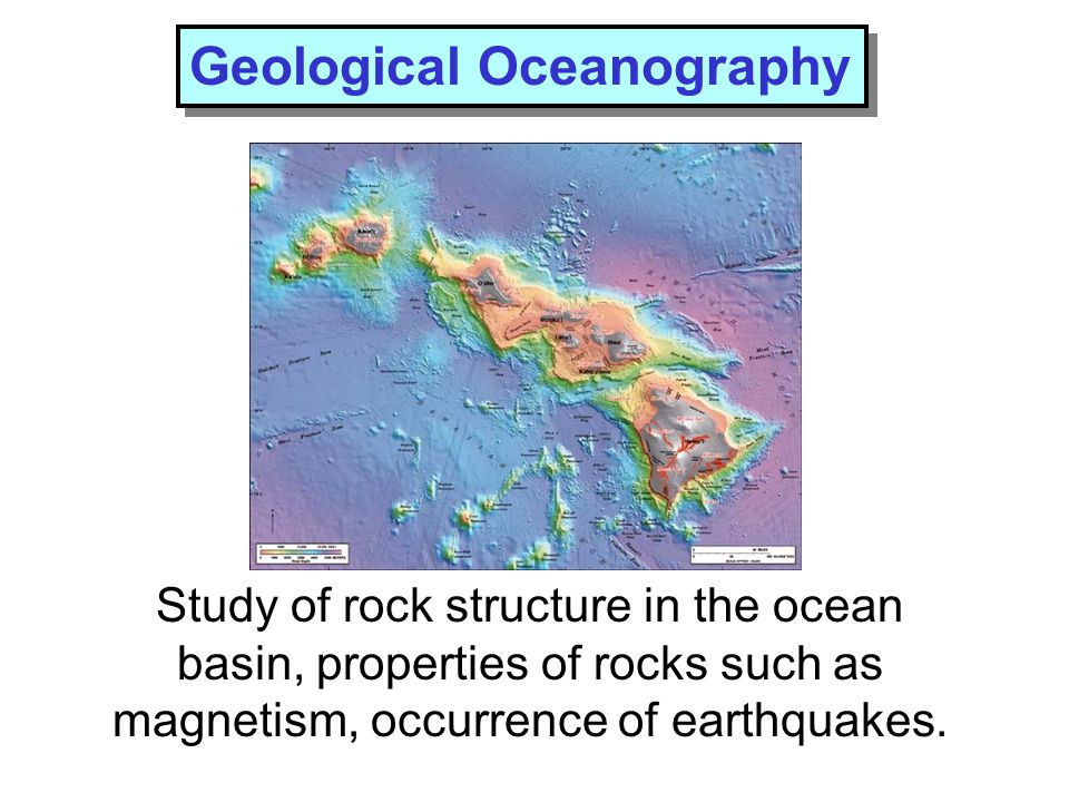 Geological Oceanography