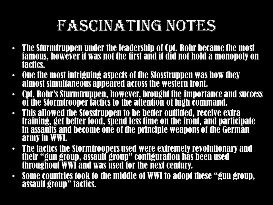 Fascinating Notes