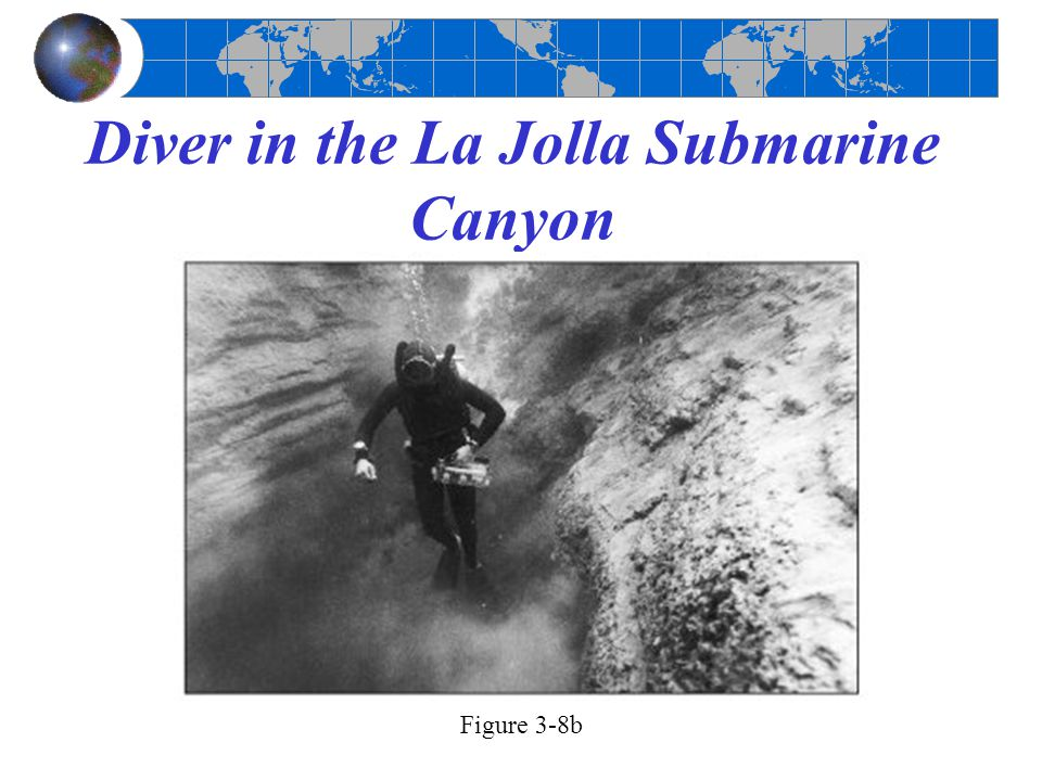 Diver in the La Jolla Submarine Canyon