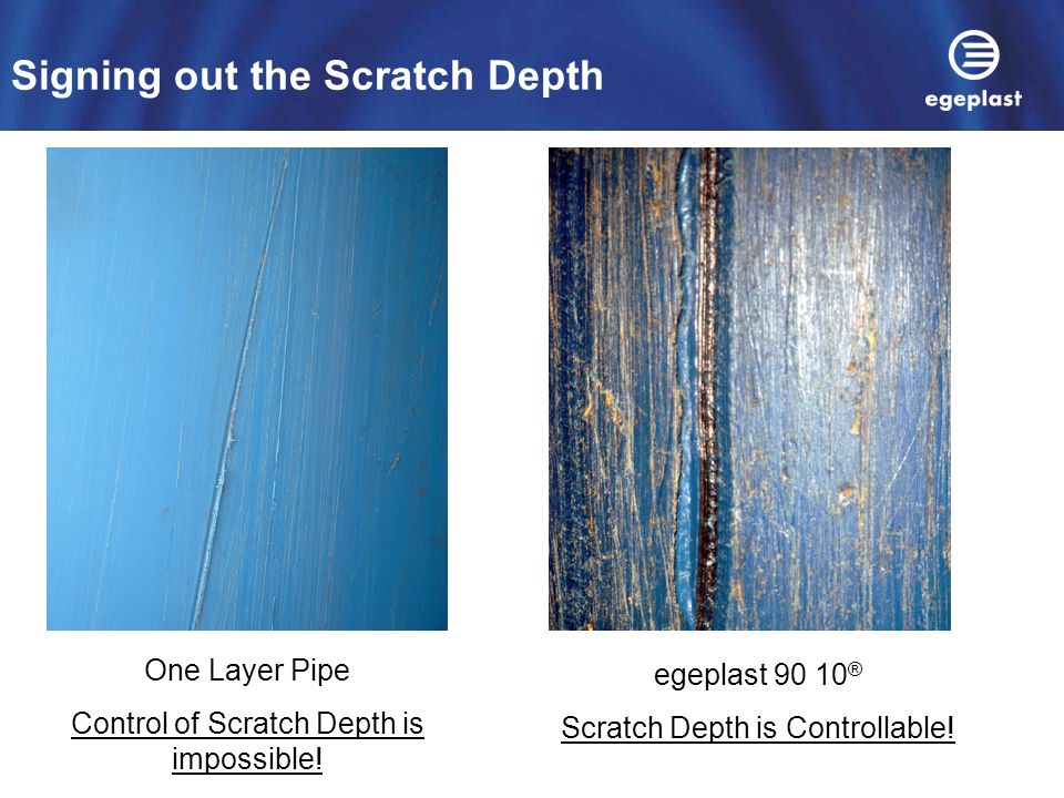 Signing out the Scratch Depth