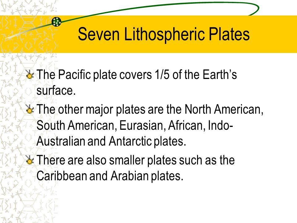 Seven Lithospheric Plates