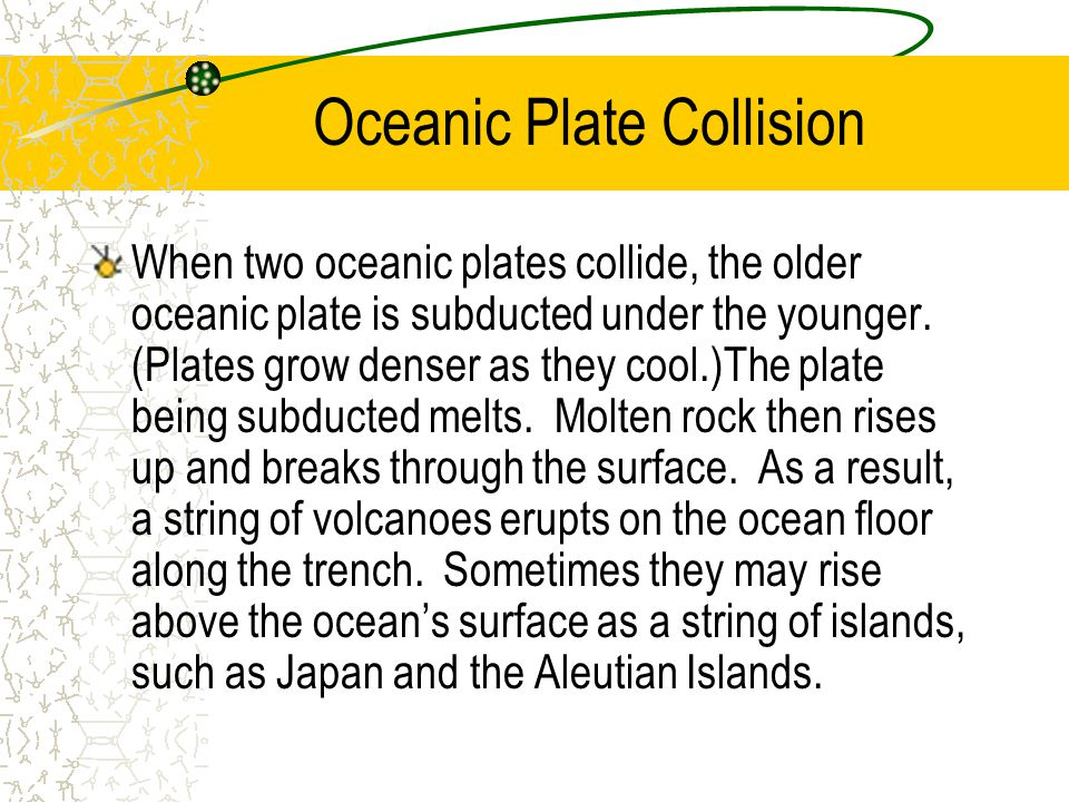 Oceanic Plate Collision