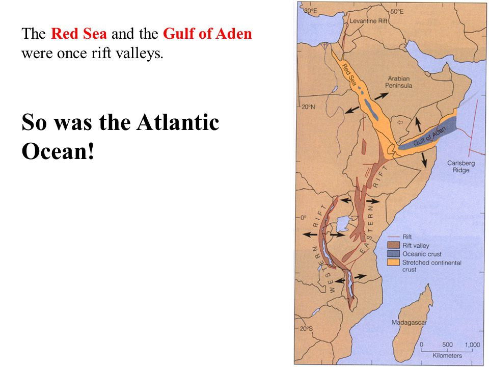 So was the Atlantic Ocean!