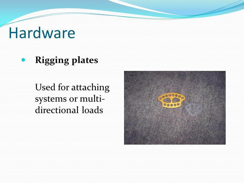 Hardware Rigging plates