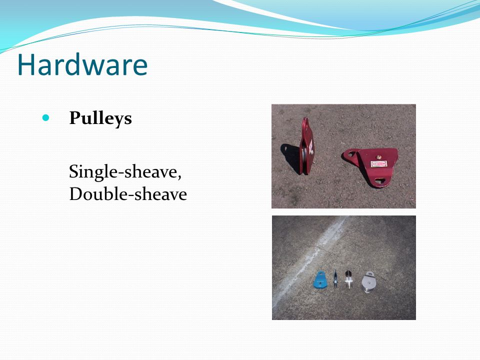 Hardware Pulleys Single-sheave, Double-sheave