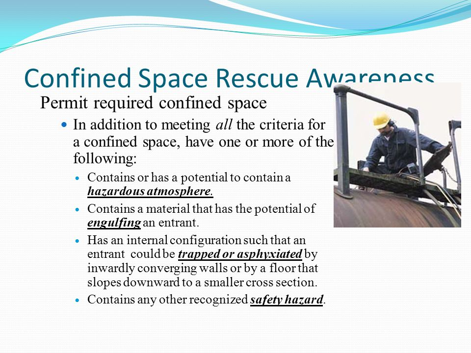 Confined Space Rescue Awareness