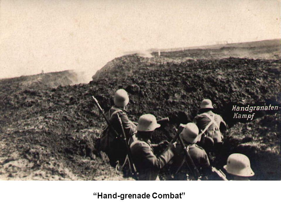 Hand-grenade Combat