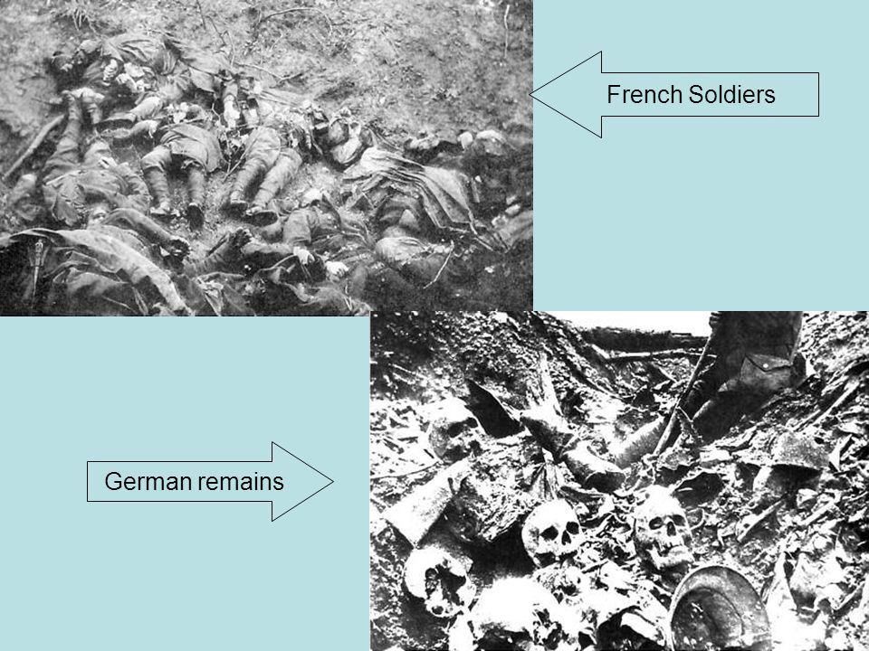 French Soldiers Dead French soldiers German remains