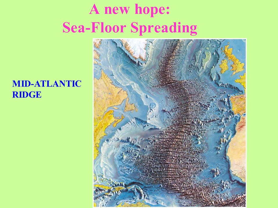 A new hope: Sea-Floor Spreading