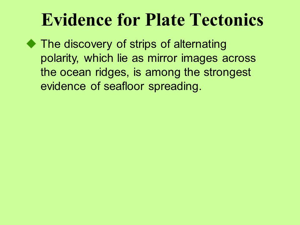 Evidence for Plate Tectonics