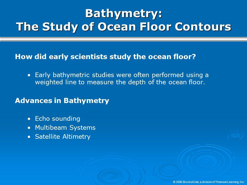 Bathymetry: The Study of Ocean Floor Contours