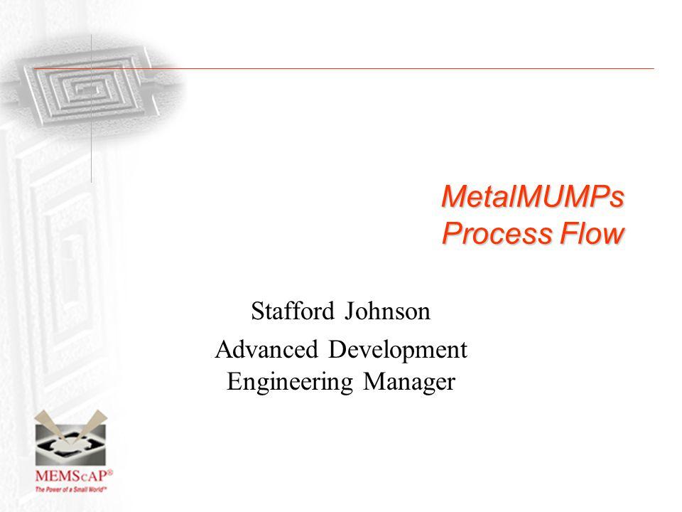 MetalMUMPs Process Flow