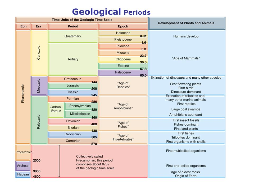 Geological Periods
