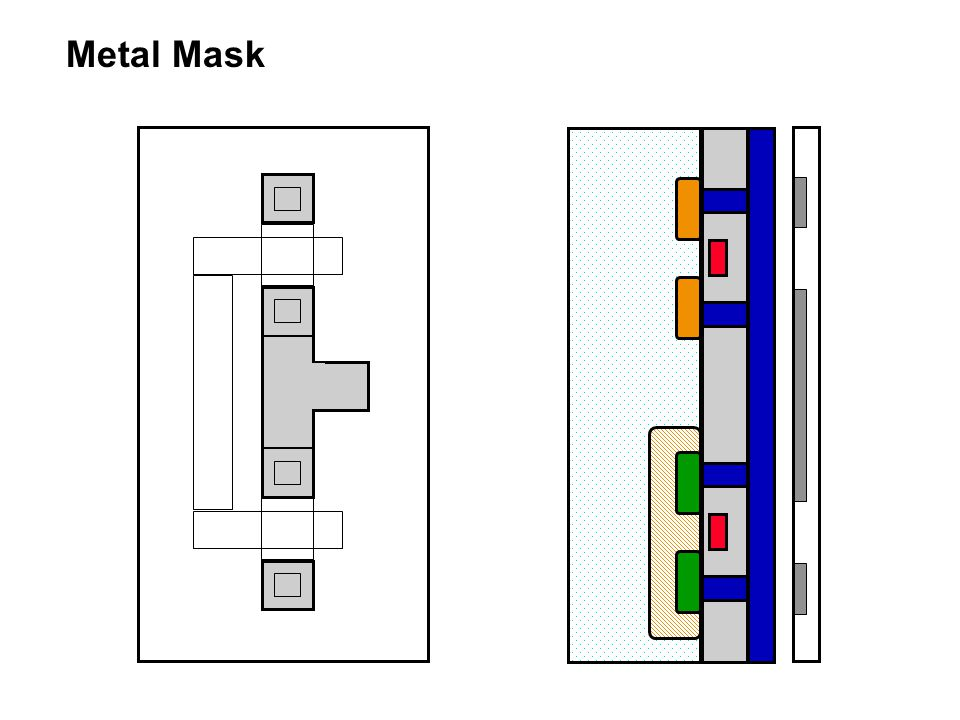 Metal Mask 62 processing steps for a double/twin tub CMOS process!!