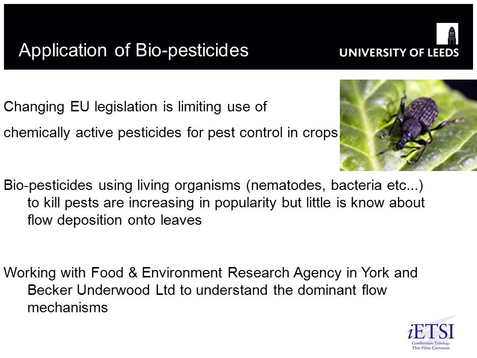 Application of Bio-pesticides