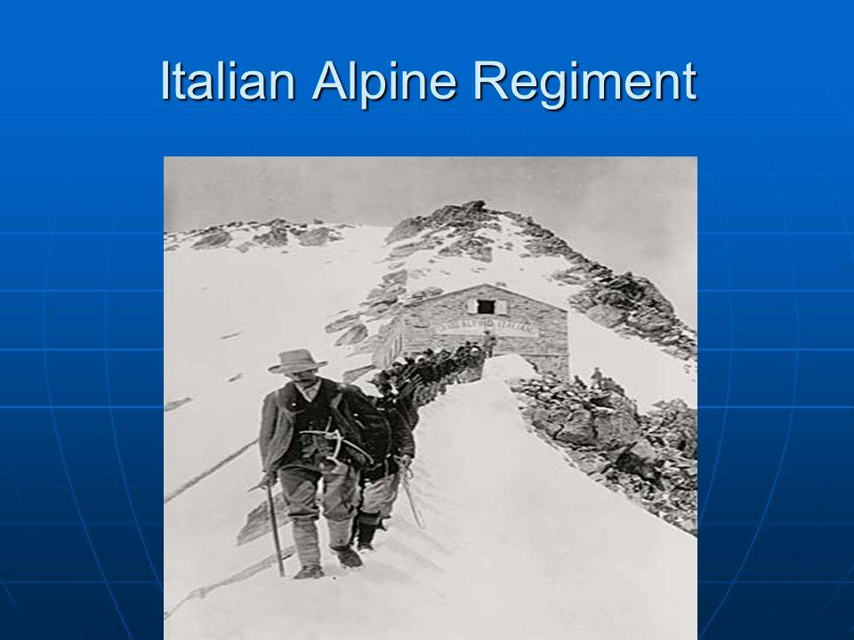 Italian Alpine Regiment