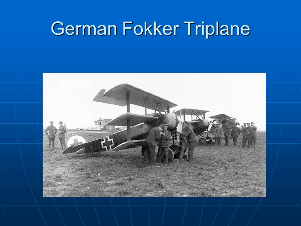 German Fokker Triplane