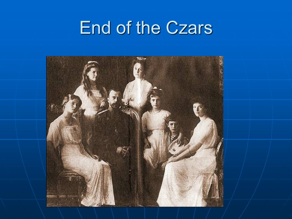 End of the Czars