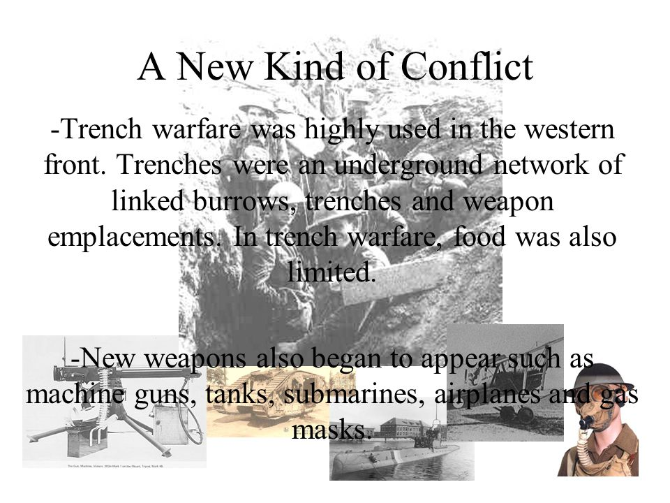 A New Kind of Conflict