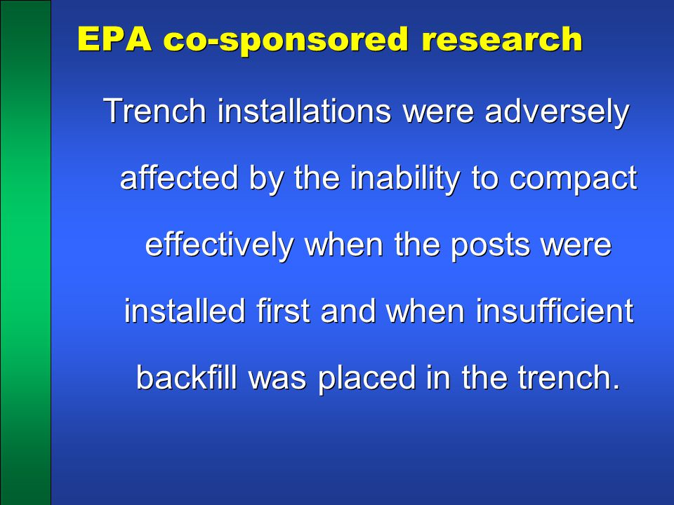 EPA co-sponsored research